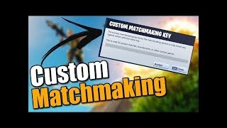 *NEW* CUSTOM MATCHMAKING GAMES!!! RIGHT NOW!! (Fortnite Battle Royale) Live