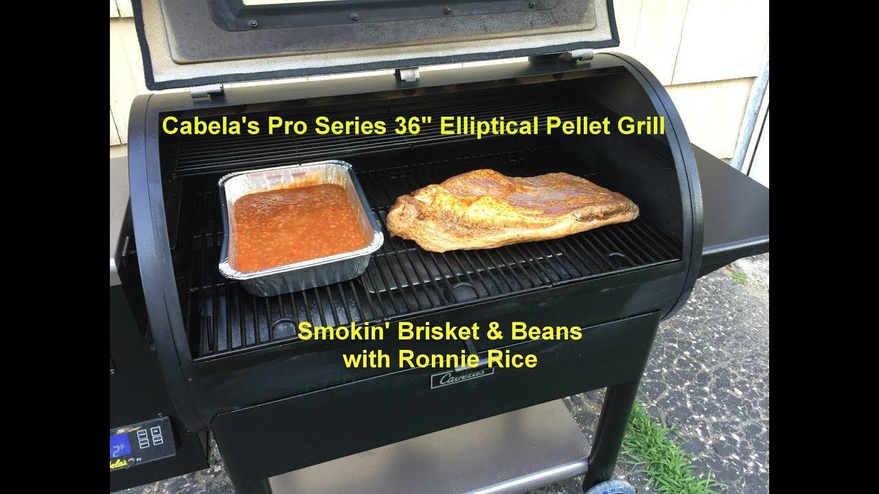 "Cabela's Pro Series 36"" Elliptical Pellet Grill - Smokin ..."