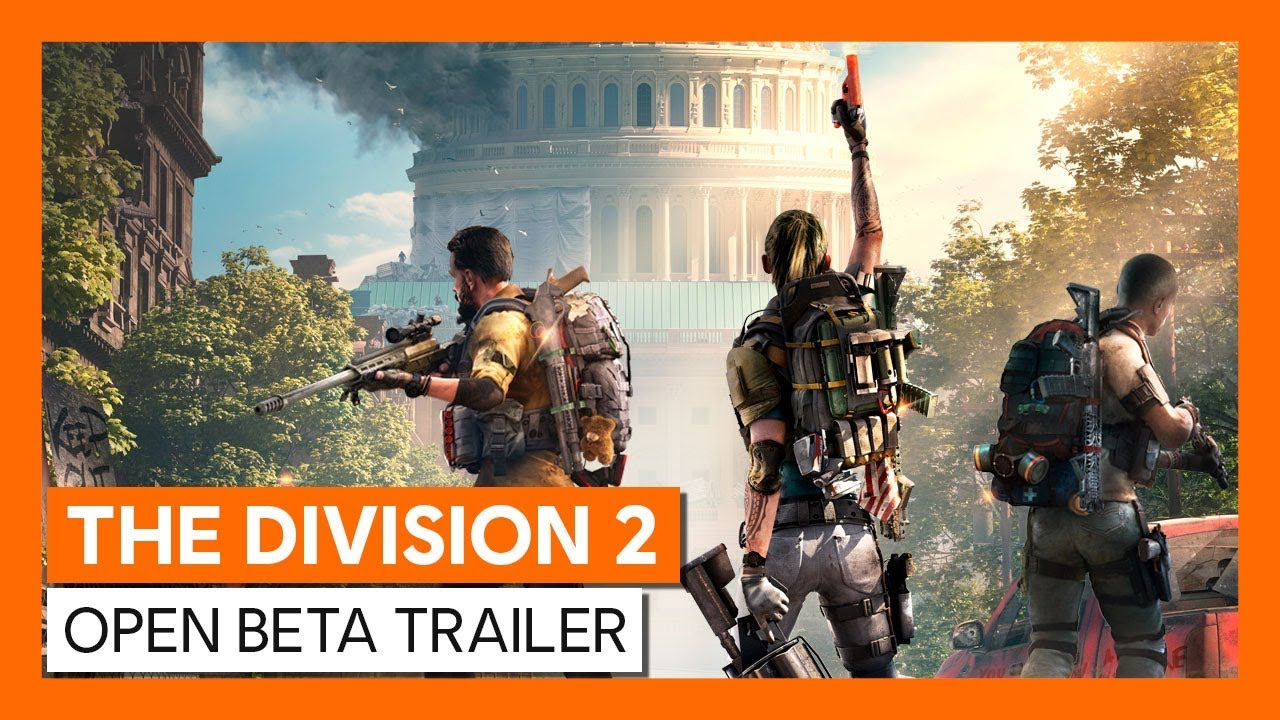 The Division 2 open beta is live: end time, content, gameplay