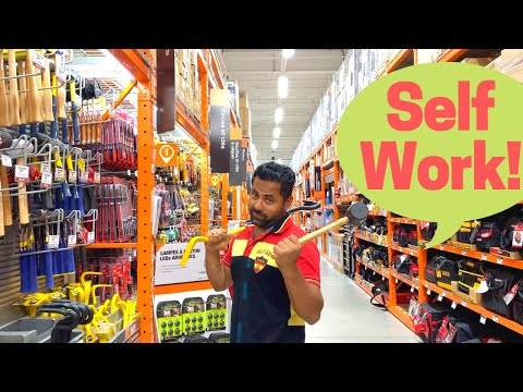 Canadians Do It Themselves  - Inside Hardware, Paint, Tools & Plumbing Store And Canadians Use Daily