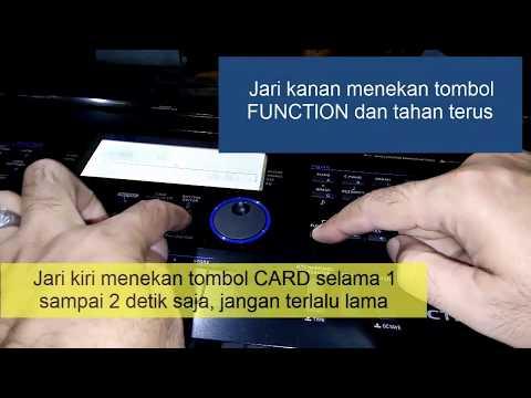 Cara Load Style dari SD Card pada Casio CTK 6200