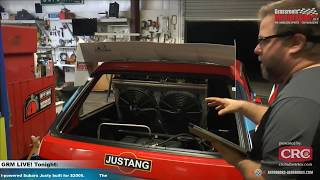 Ford V8-powered Subaru Justy!?!? Built for under $2000?!? Yes, really. GRM LIVE! Presented by CRC