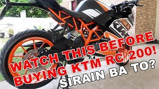 KTM RC 200 OWNERSHIP REVIEW PH
