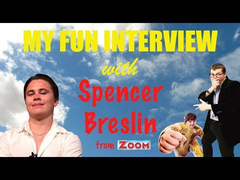 My Fun Interview with Spencer Breslin