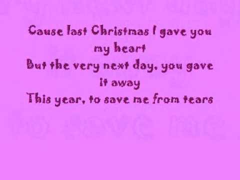 Taylor Swift - Last Christmas with lyrics! - YouTube