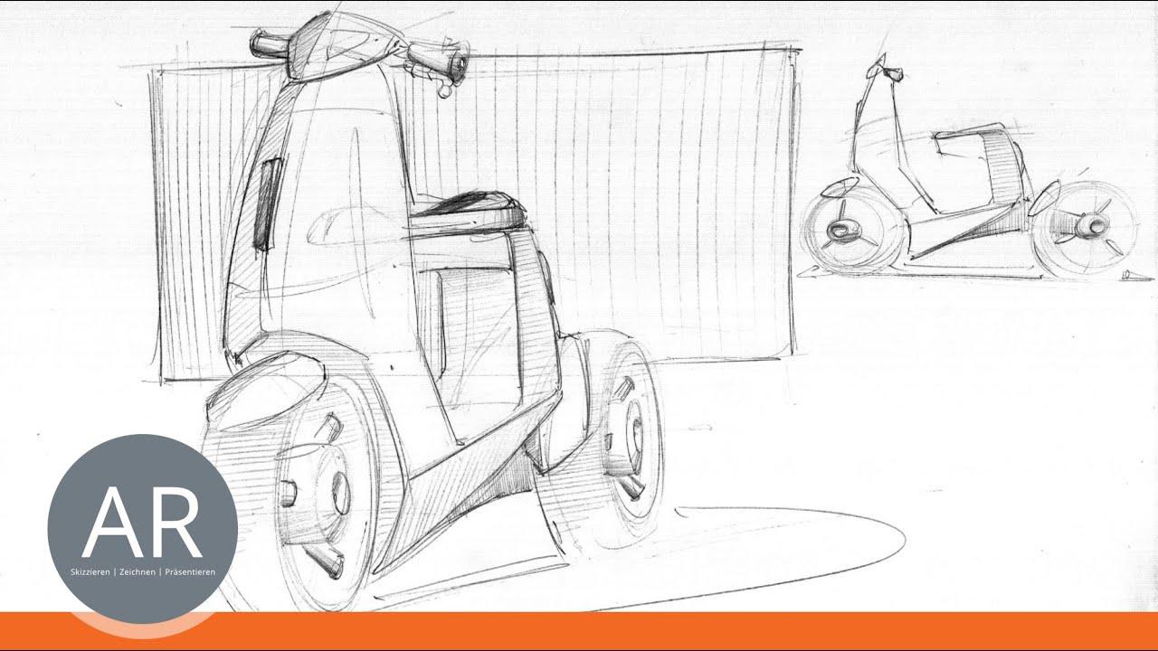 Zeichnen Lernen Von Profis Bewerbungsmappe Produktdesign