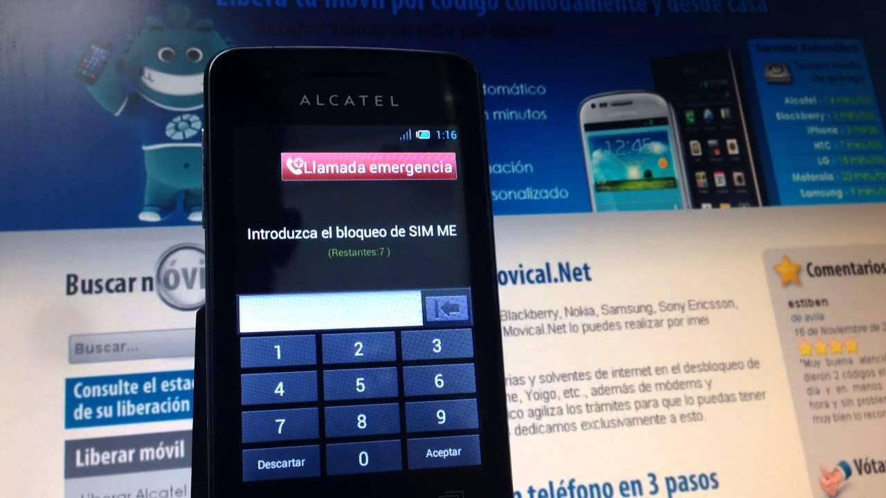 Liberar alcatel s pop desbloquear ot 4030x de yoigo - Movical net liberar ...