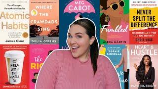 10 Books I Read In January #ReadingRaenbow 🌈 | Sarah Rae Vargas