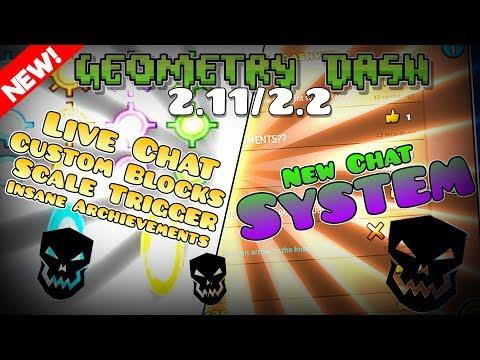 ¡¡Nuevo COMMENT LIST,  CHAT en DIRECTO, SCALE TRIGGER...!! || Geometry Dash [2.11/2.2] || PhoeniX
