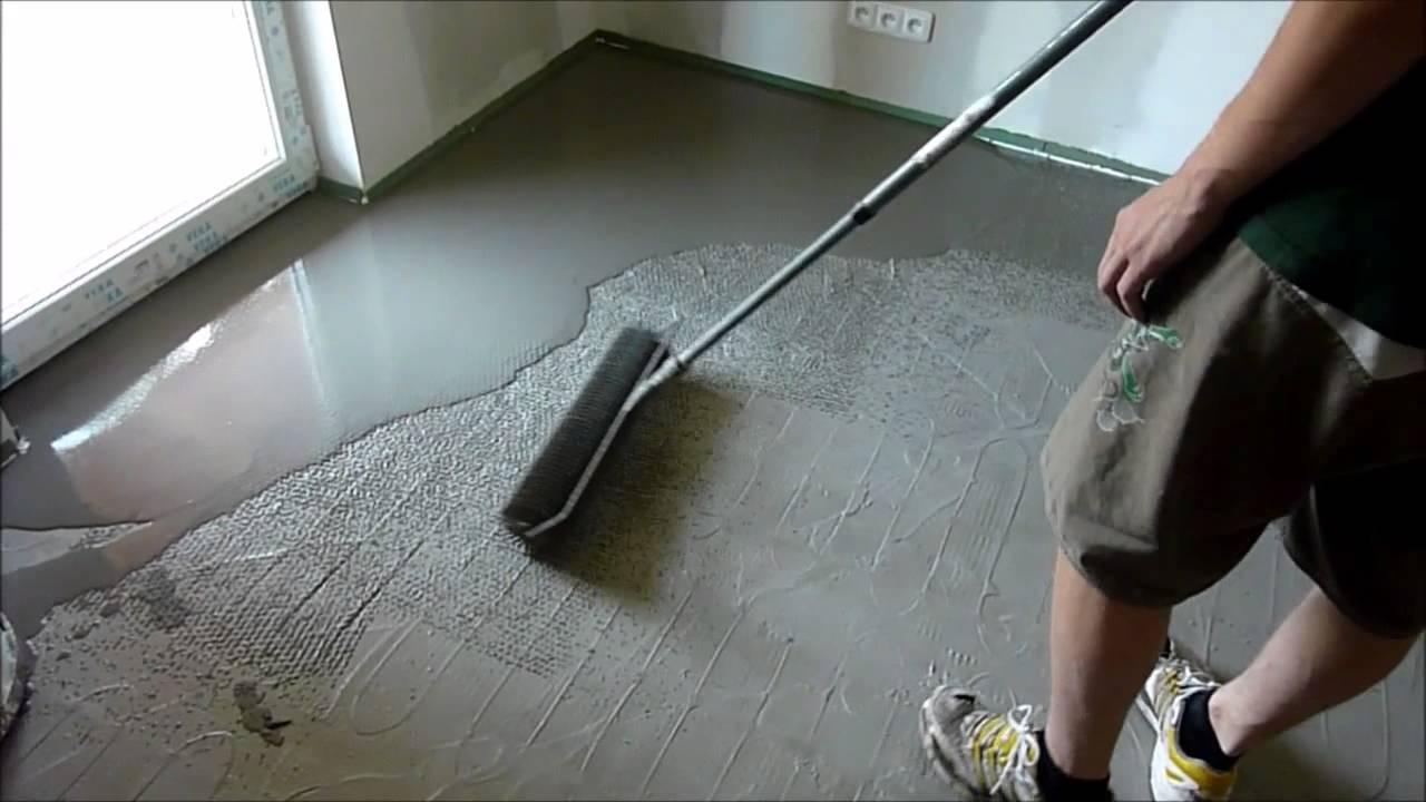 Nivelace podlahy