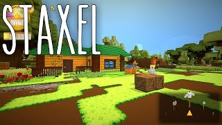 Staxel #03 | Ressourcen herstellen | Gameplay German Deutsch thumbnail