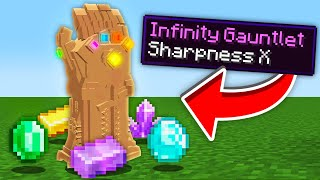 Minecraft, But I Craft An Infinity Gauntlet...