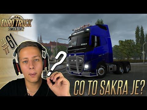 CO TO SAKRA JE?   Euro Truck Simulator 2 #61