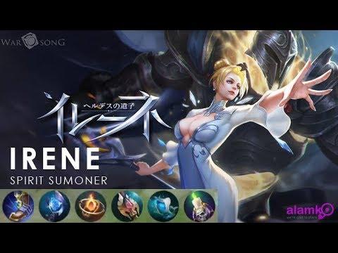 16:56 New Hero: Irene Spirit Summoner Best Build - War Song Moba Razer  Phone Gameplay 16/06/2018   War Song 5vs5 Moba Gameplay/news/updates    Alamko That ...