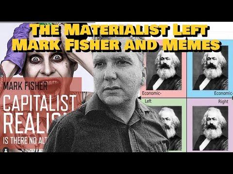 Materialist Left, Mark Fisher, And Memes Ft. Joshua Citarella