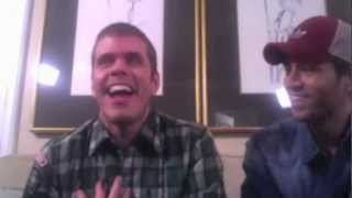 Enrique Iglesias & Perez Hilton Live Chat Archive (November 2011)