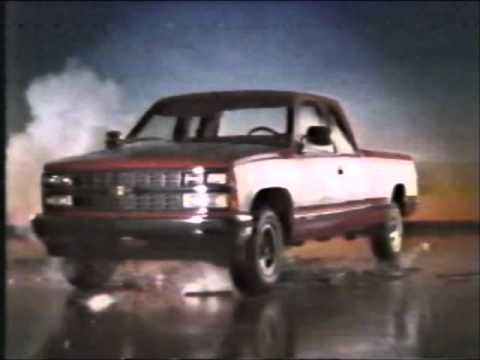 1988 Chevy Truck Commercial