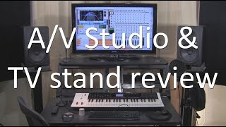 ACF 026 My A/V studio and North Bayou TV Stand build & review