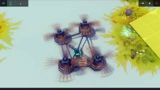 no mods challenge rtc steering functional plane quadcopter and walker   fun with besiege 36