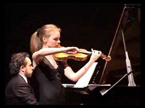 C.Debussy: Sonata per violino e pianoforte (III tempo) Duo Laura Marzadori - Giacomo Ronchini