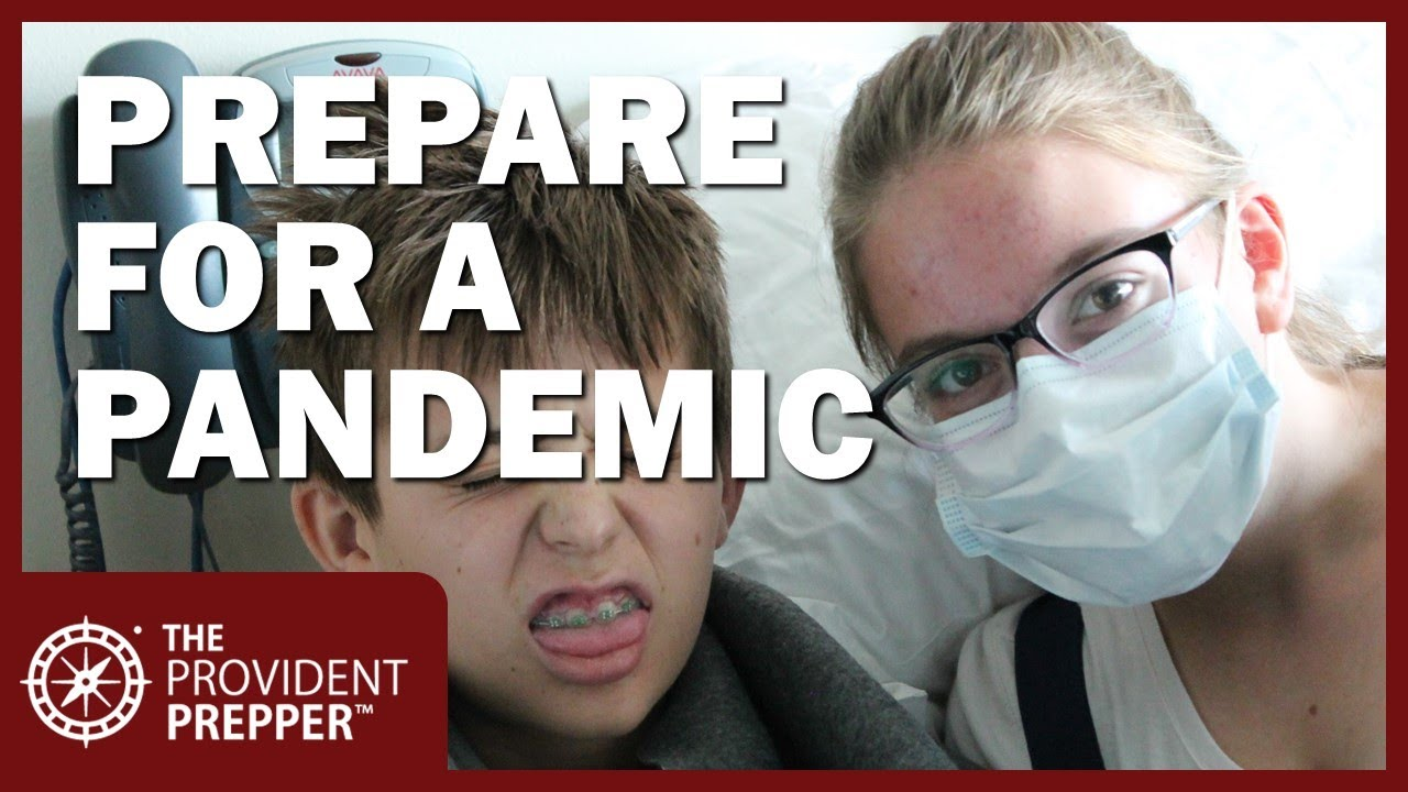 Prepare Now for a Pandemic