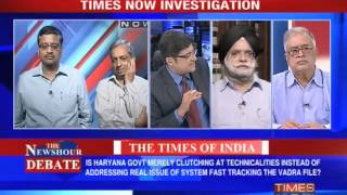 The Newshour Debate - The Vadra file (Part 1 of 3)