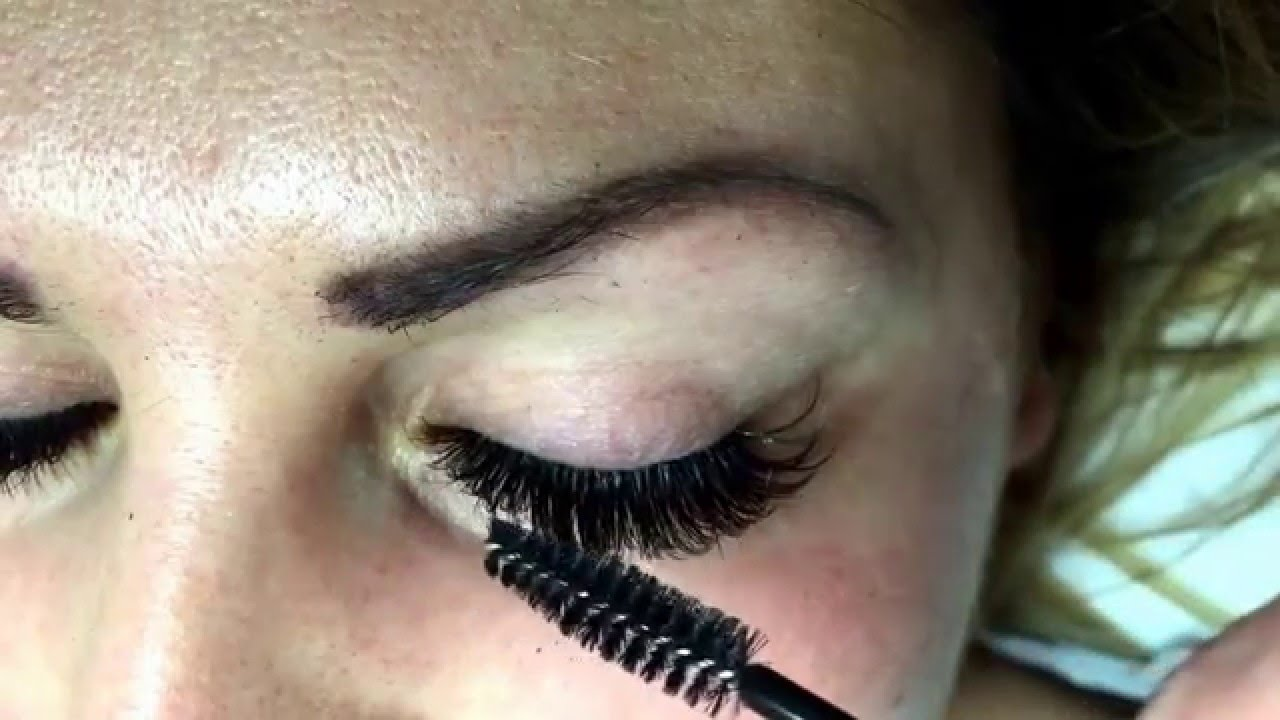 Eyelash Extensions By Iwona Upper And Lower Lashes 6d Volume Russian