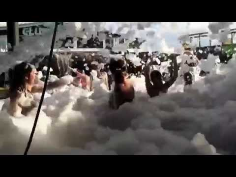 Dj Skribble & DJ Type-R @ Club La Vela's foam party. Spring Break 2014