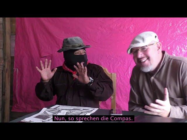 Gespräch mit dem Subcomandante Moisés - Conversación con el Subcomandante Moisés
