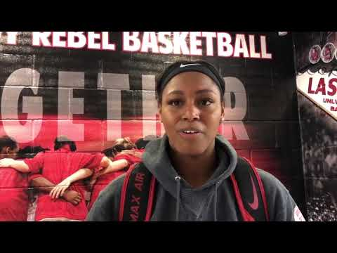 UNLV's Bell talks about role