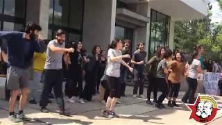 ODTÜ Öğrencileri Şenlik için AYAKTA: ODTÜ Oyuncuları da Eylemdeydi!