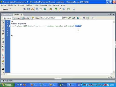 VideoTutorial 16 del Curso de ASP y SQLServer