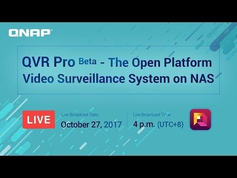 QVR Pro Beta - The Open Platform Video Surveillance System on NAS
