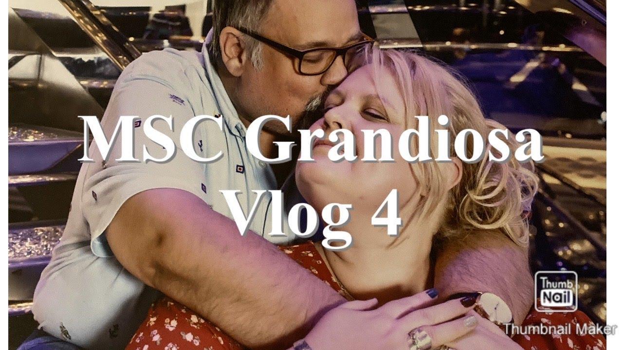 MSC Grandiosa | Inaugural cruise | November 2019 | Vlog 4 ...