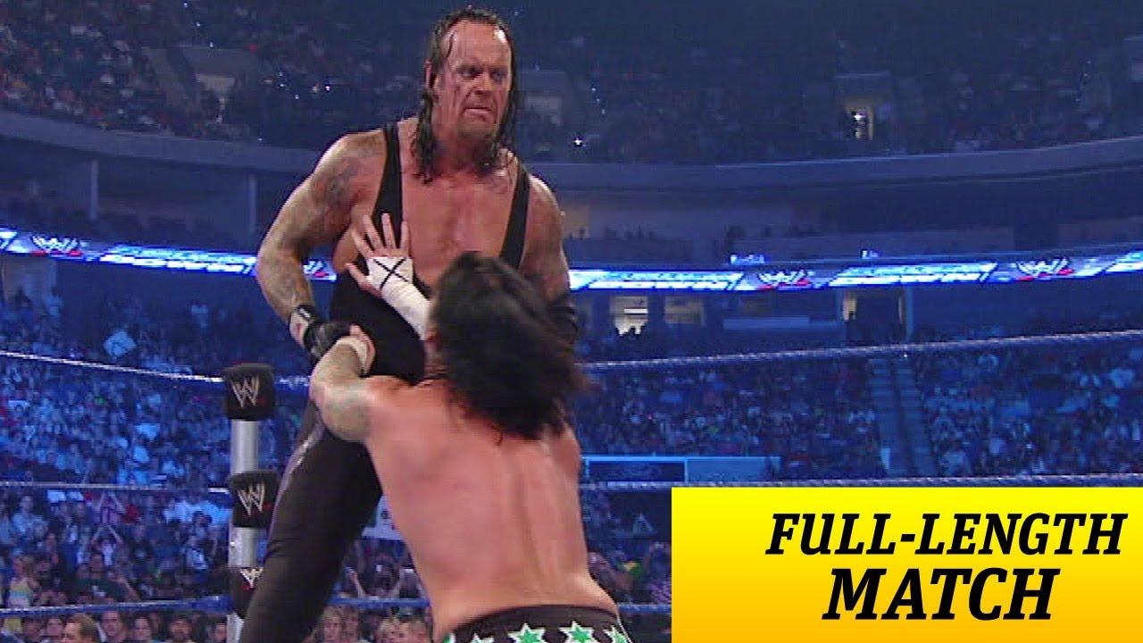 Full length match smackdown the undertaker vs cm punk youtube voltagebd Gallery
