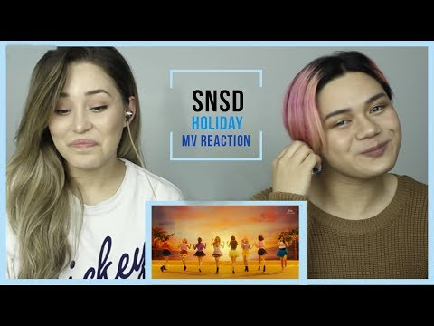 GIRLS' GENERATION 소녀시대 - HOLIDAY MUSIC VIDEO REACTION :D