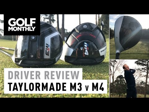 taylormade m3 vs m4 driver test golf monthly youtube. Black Bedroom Furniture Sets. Home Design Ideas