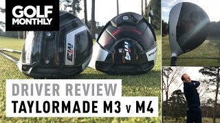 TaylorMade M3 vs M4 | Driver Test | Golf Monthly