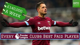 Best Paid Player at EVERY Premier League Club