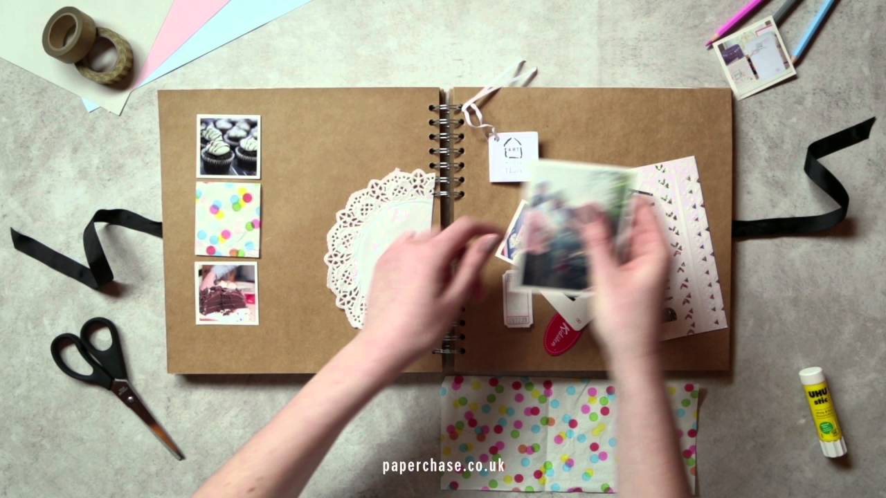 How to scrapbook a holiday - How To Scrapbook