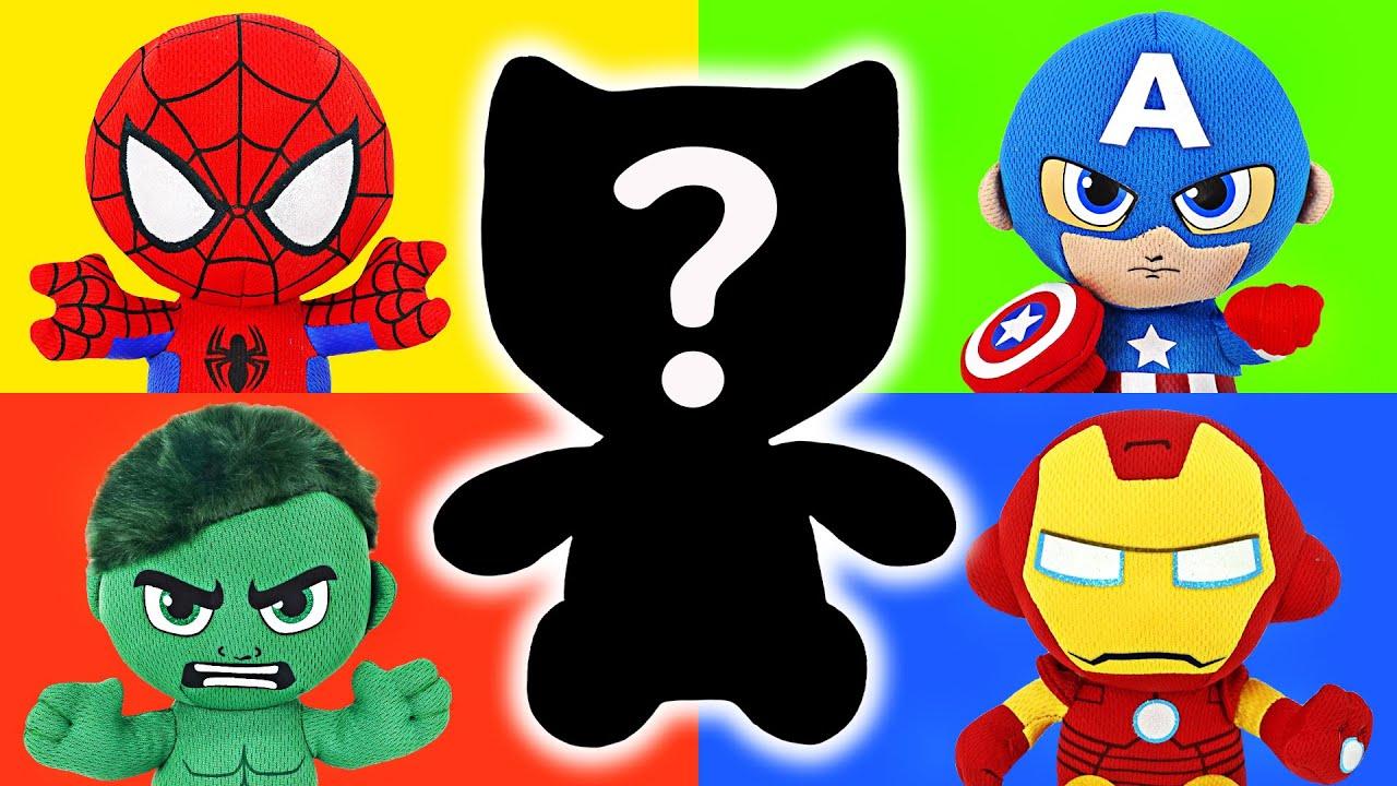헐크, 스파이더맨, 아이언맨, 블랙팬서! 알에서 커다란 마블 인형으로 변신! | 두두팝토이