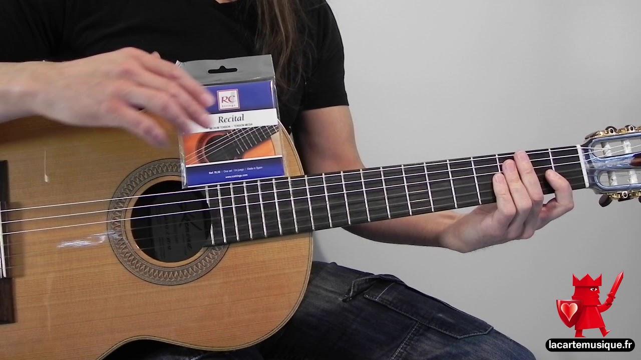 Cordes de guitare classique tirant moyen : Royal Classics ...
