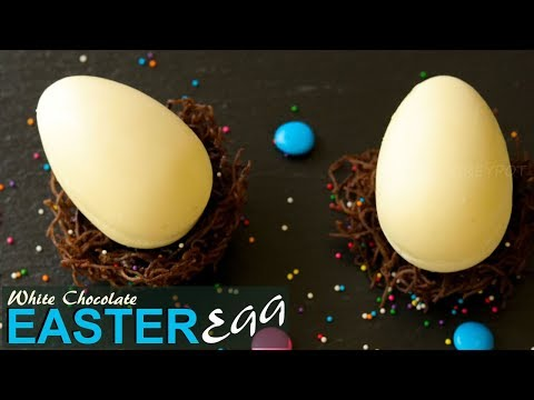 Easter Egg With Surprise Inside | Reuse Kinder Joy Cover To Make This Surprise Chocolate Egg