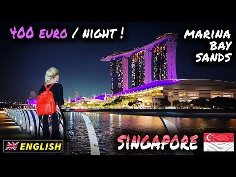 A night at Marina Bay Sands, Singapore