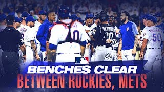 Benches clear in New York