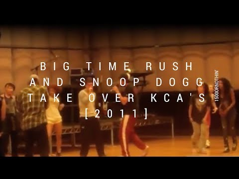 with 1500: BIG TIME RUSH AND SNOOP DOGG TAKEOVER THE KCAs 2011