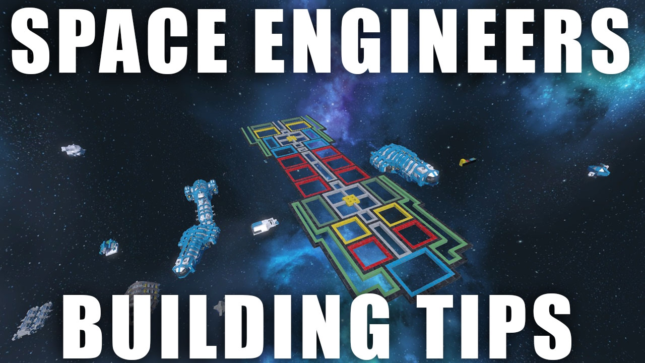 space engineers ship building tips youtube