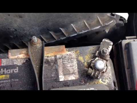 How to clean car battery corrosion