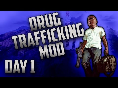 "GTA 5 Thug Mod - Day 1 - ""$47 GAS !?"" (GTA 5 Drug Dealing Mod Series)"