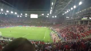 Кубок Конфедераций в Москве. Чили - Камерун. Второй гол Чили.